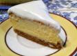 Cheesecake recouvert de crème vanillée ~ Christophe Felder